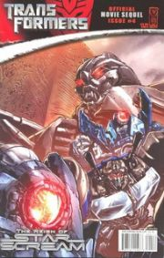 Transformers Movie Sequel Reign of Starscream #4 Cover B (2008) IDW Publishing comic book